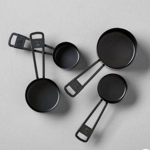 Hearth & Hand™  4pc Measuring Cup Set Black
